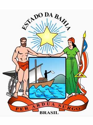 Brasão do estado do BAHIA - BA