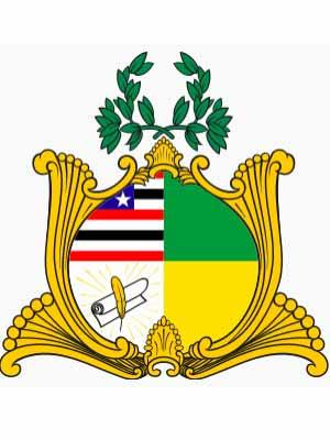 Brasão do estado do MARANHãO - MA