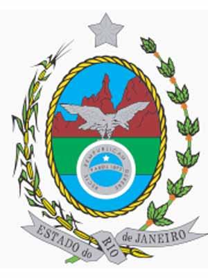 Brasão do estado do RIO DE JANEIRO - RJ