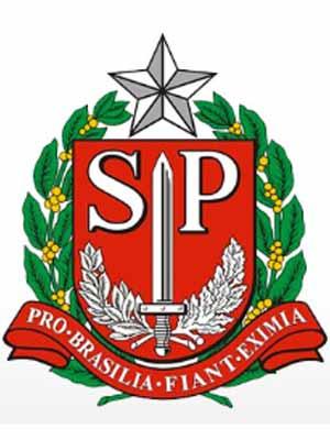 Brasão do estado do SãO PAULO - SP