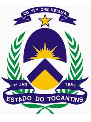 Brasão do estado do TOCANTINS - TO