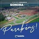 Foto da Cidade de Sonora - MS